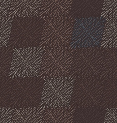 Small strokes forming diamonds on brown vector