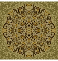 Beautiful Mandala Background vector image
