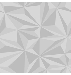 Geometric seamless triangle 3d pattern vector image vector image
