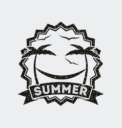 summer relax flat vector image