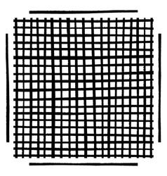Grid Brushes Grunge vector image