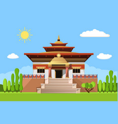 temple of heaven icon isolated on white background vector image vector image