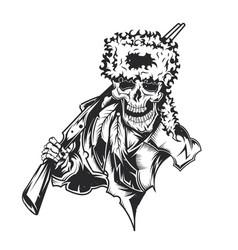 Dead hunter vector