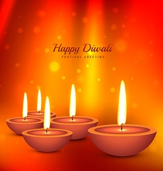Deepawali background vector