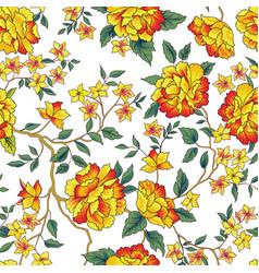 Garden flower background vector