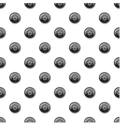 Grey speedometer pattern vector