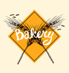 Hand drawn bakery vector