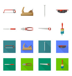 Isolated object household and repair icon vector