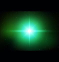 light flash effect vector image