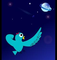 Super Lady-bird in space vector