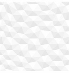 white distorted seamless hexagonal texture vector image