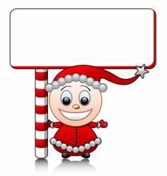 Santa's helper vector image vector image