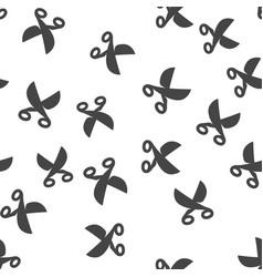 scissors seamless pattern vector image