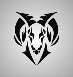 Tribal Aries Signs vector image vector image