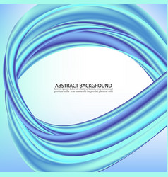 abstract blue wave background blue wave business vector image