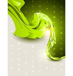 Abstract style wave vector