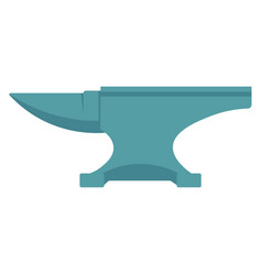 Anvil isolated on a white background vector