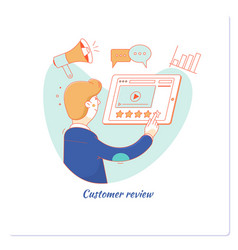 Customer review usability evaluation feedback vector