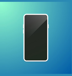 modern smartphone concept vector image
