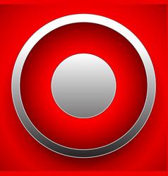 Rec record button vector