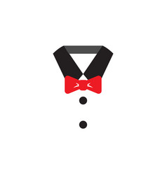suit icon graphic design template vector image