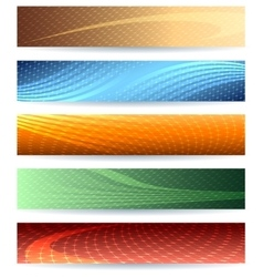 Abstarct Background Set vector image