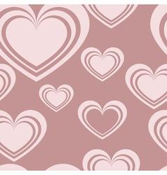 pattern heart vector image