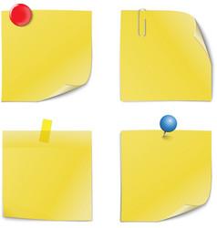 Adhesive Notes vector image
