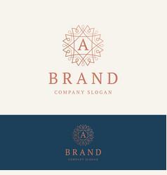 a brand logo vector image