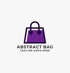 bag design concept template vector image