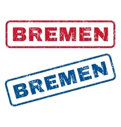 Bremen Rubber Stamps vector