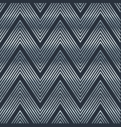 chromium line pattern vector image