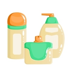 Cream Lotion And Sopa Dispenser Containers vector