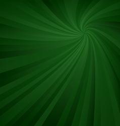 Dark green spiral pattern background vector