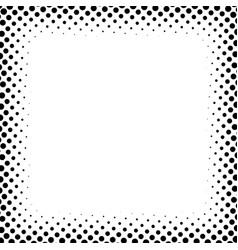 Halftone screentone square format geometric vector