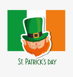 Happy saint patricks day card vector