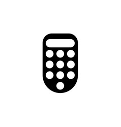 intercom entry house flat icon vector image