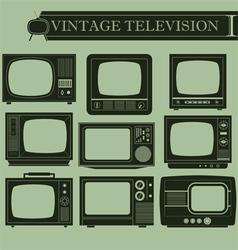 Vintage television I vector
