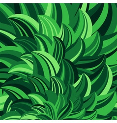 green leaves abstract vector image