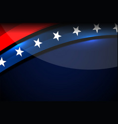 Usa curve background vector