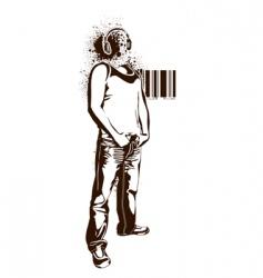 stencil vector image