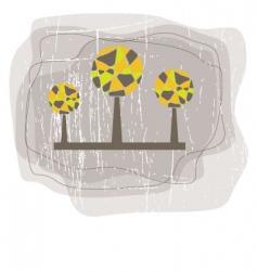 tree illustration vector image vector image