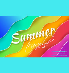 abstract multicolored background imitation of the vector image
