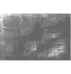 black dotted grunge background vector image