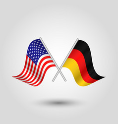 Icon united states of america and germany vector