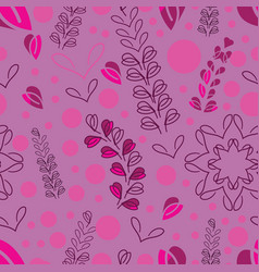 lavender field-love in parise seamless repeat vector image