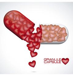 Love Capsule vector