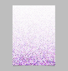 Purple circle pattern brochure background vector