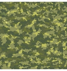 Seamless camouflage military cloth of infantry vector image