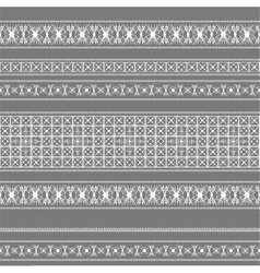 seamless pattern with white lace vector image